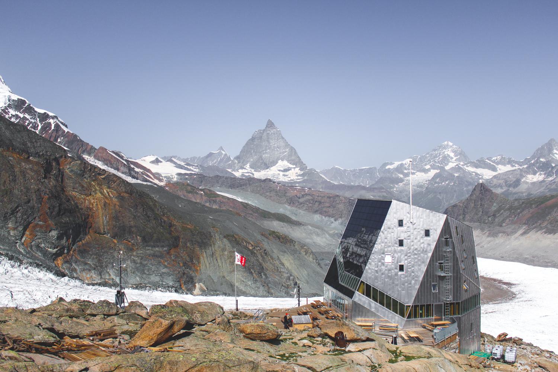 Monte Rosa Hute i Matterhorn
