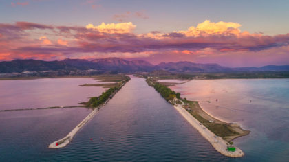 neretva-sunset