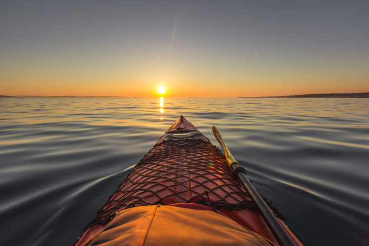 zadar-sunset-from-a-kayak