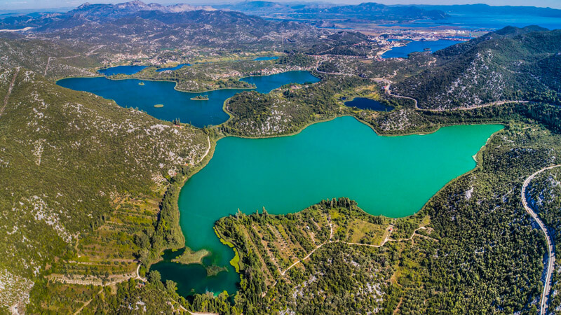 aerial-view-on-bacina-lakes