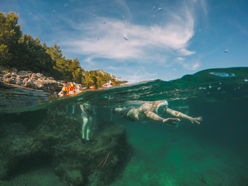 snorkeling-near-makarska-croatia