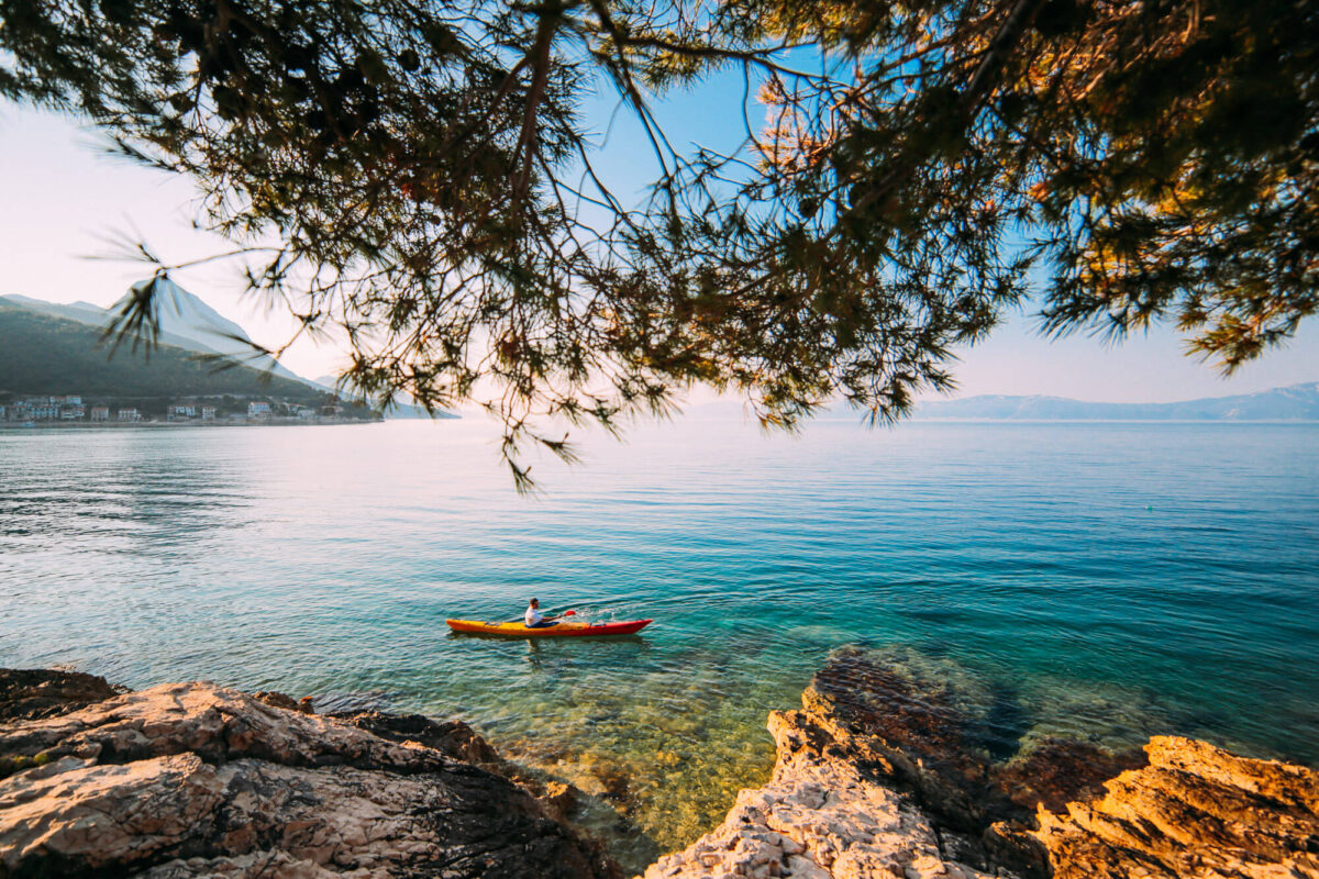 kayaking is one of the best things to do in gradac