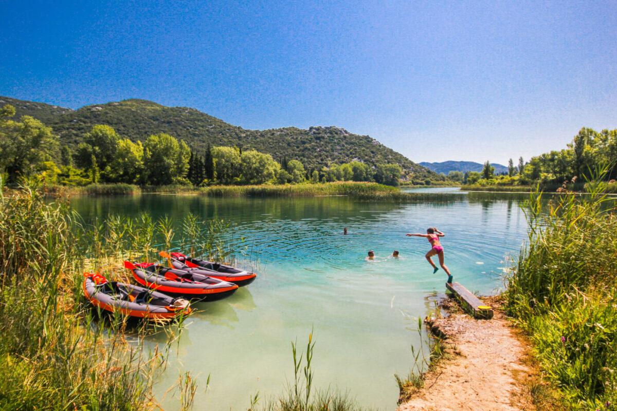 mindel beach on bacina lakes