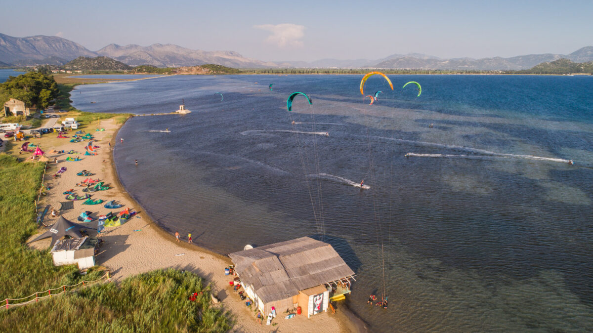 kiteboarding in neretva