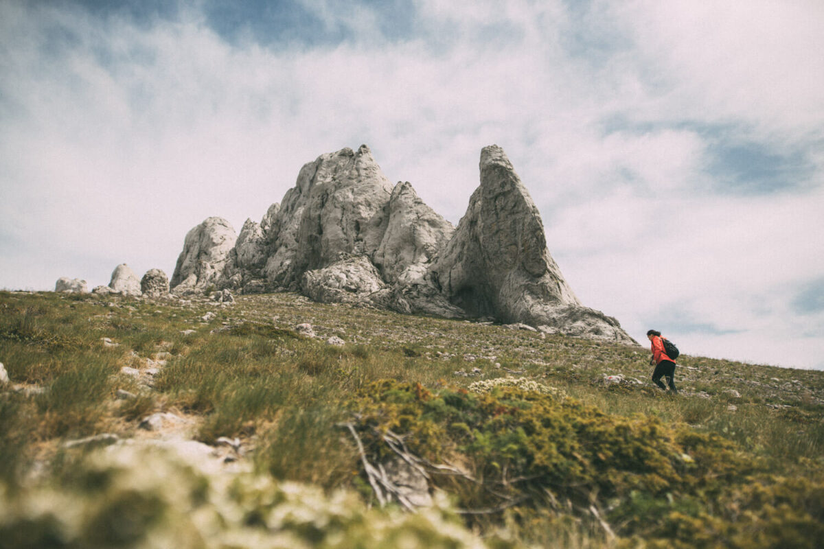 hiking to tulove grede on velebit mountain