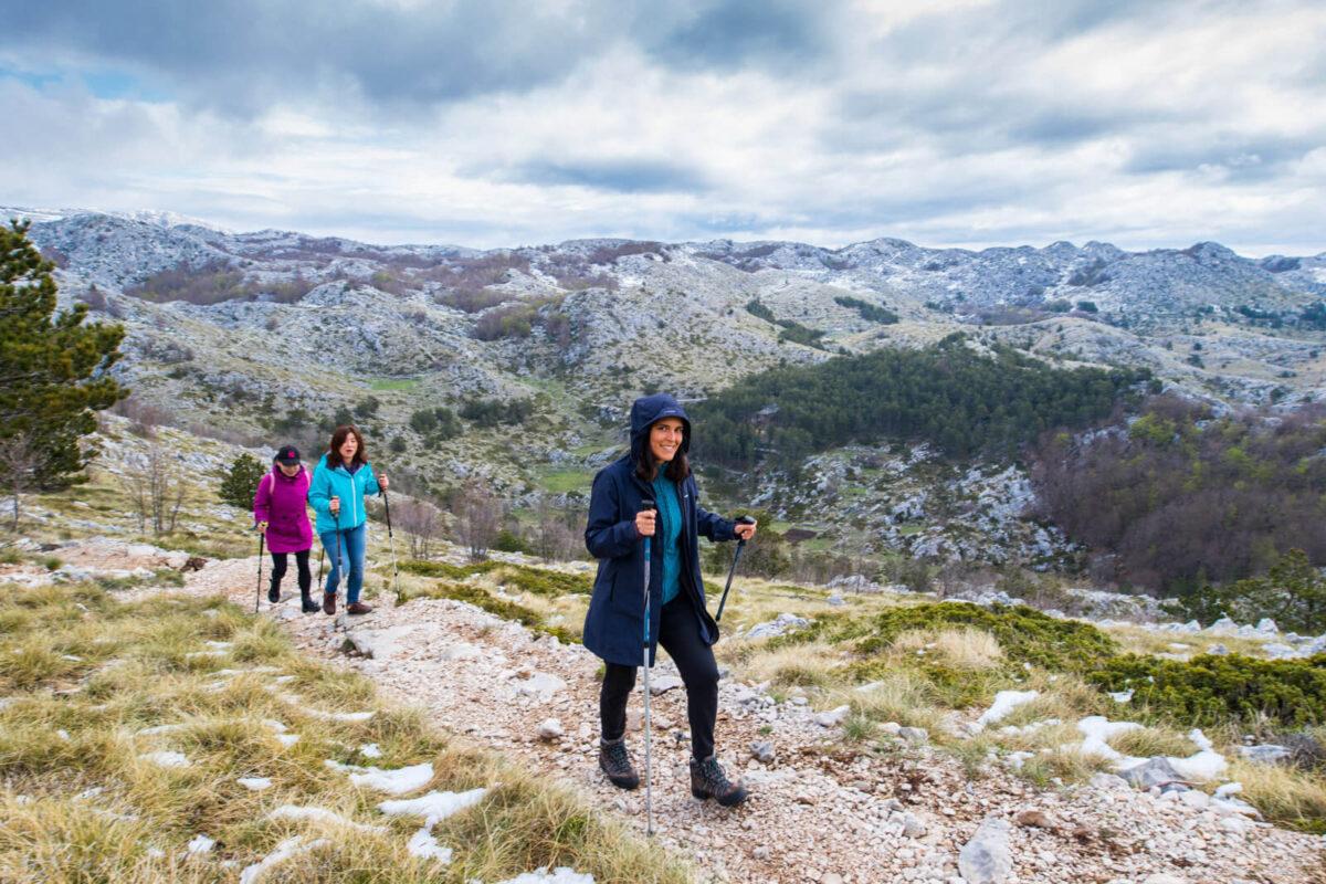 biokovo nature park hiking