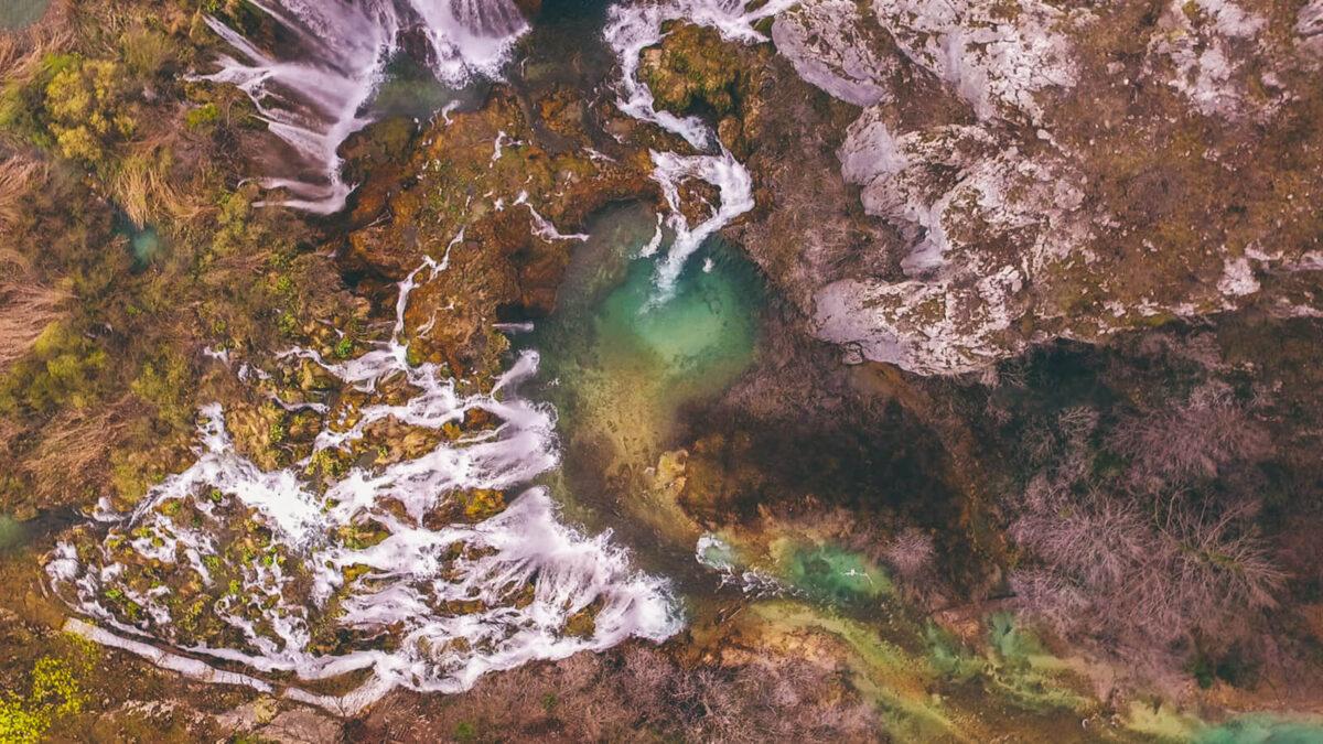 national parks in croatia - plitvice lakes