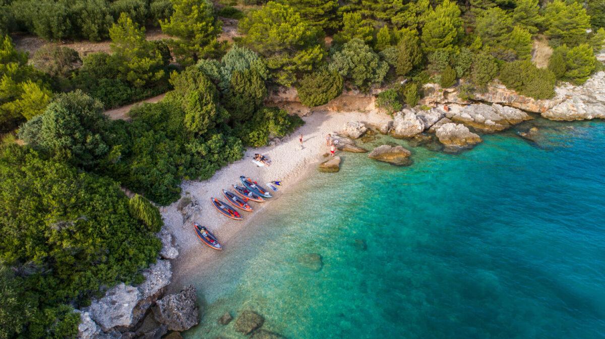 visit makarska riviera beaches