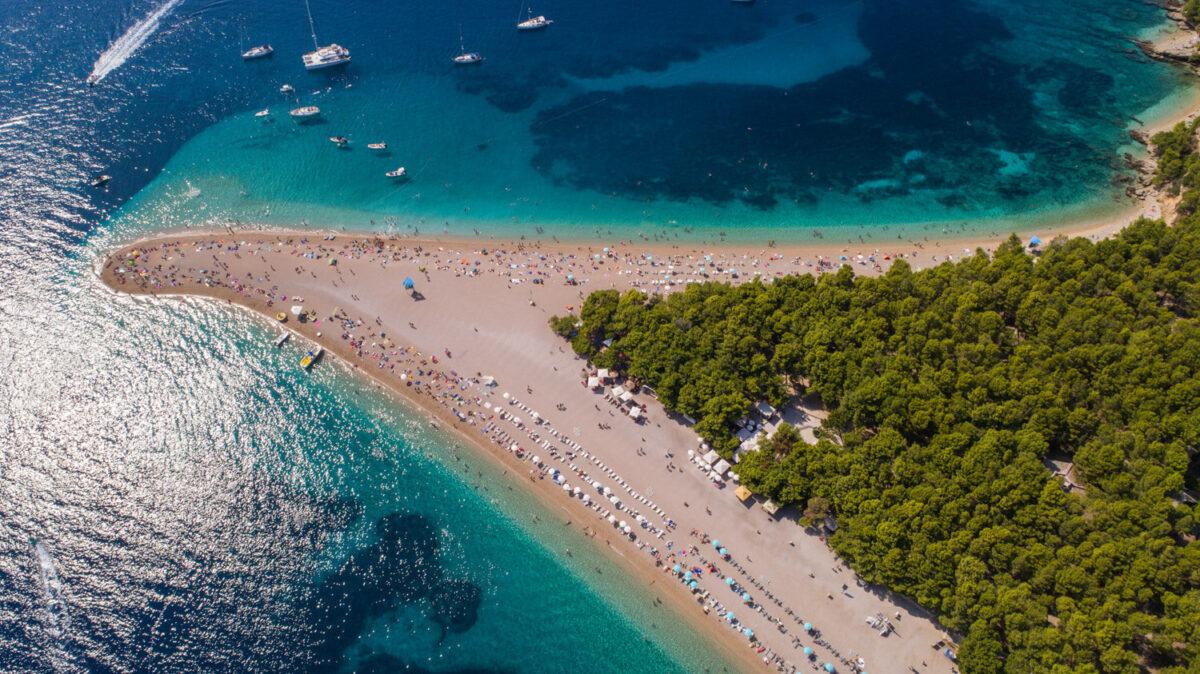 beaches in dalmatia